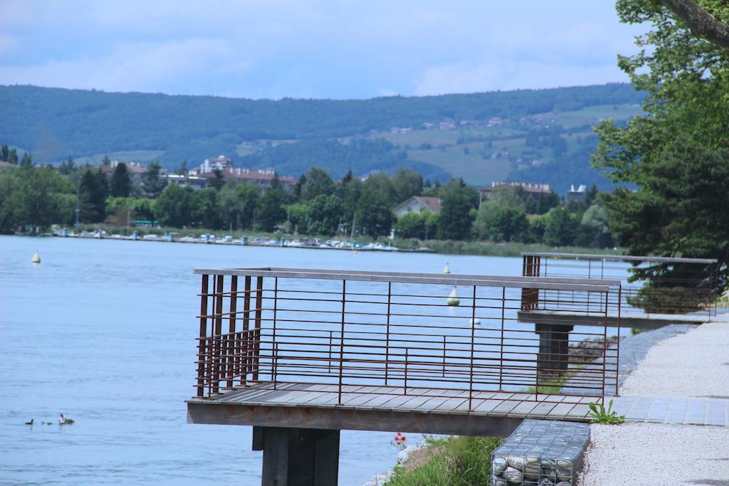 voyager en vélo à annecy - haute-savoie - lac - facile - circuit